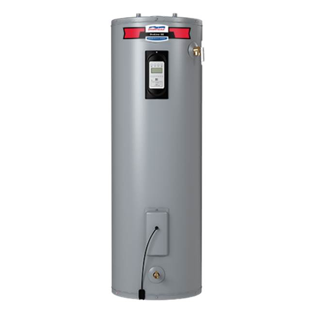 American Water Heaters ProLine XE 55 Gallon Tall Self-Cleaning Electric Water Heater with Leak Detection