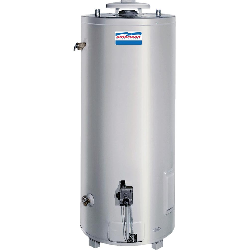 American Water Heaters Commercial Gas Non-Dampered Water Heater