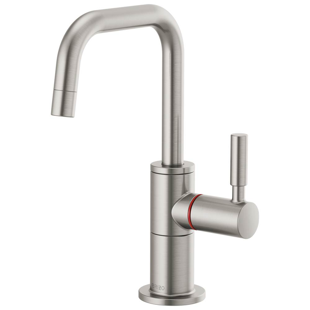 Brizo Solna: Instant Hot Faucet with Square Spout
