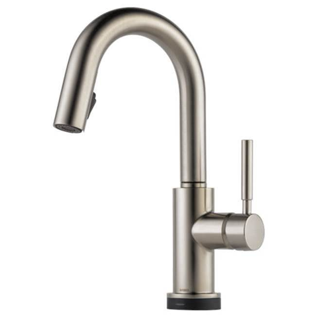 Brizo Solna: Single Handle Single Hole Pull-Down Prep with SmartTouch(R) Technology