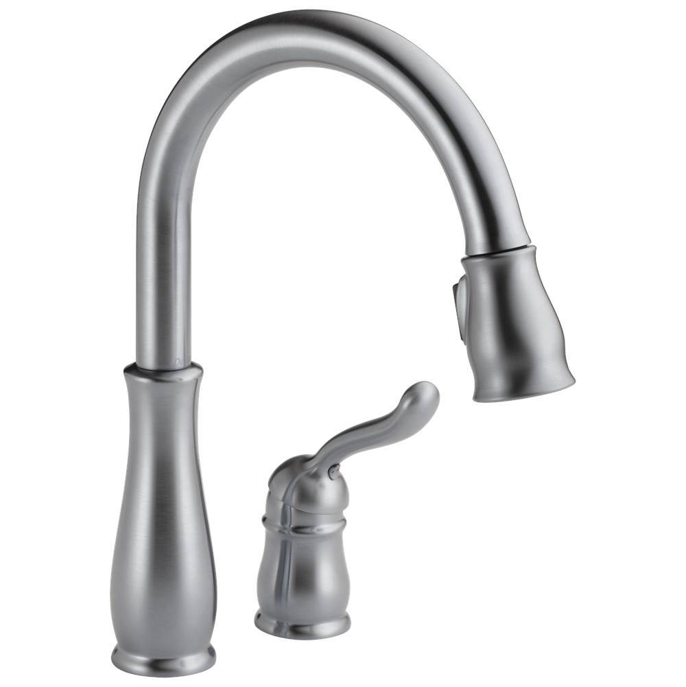 Delta Faucet Leland: Single Handle Pull-Down Kitchen Faucet