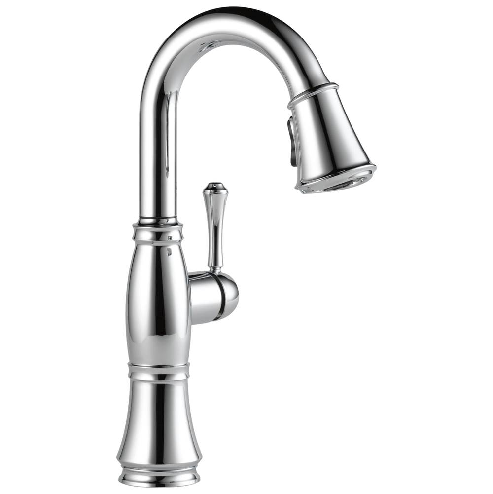 Delta Faucet Cassidy: Single Handle Pulldown Bar/Prep Faucet