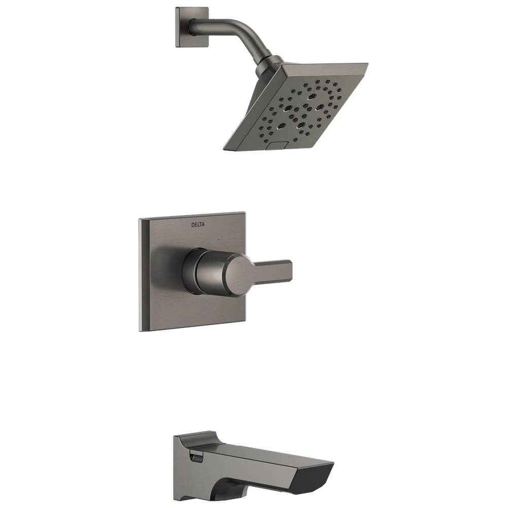 Delta Faucet Pivotal: Monitor® 14 Series H2Okinetic® Tub and Shower Trim