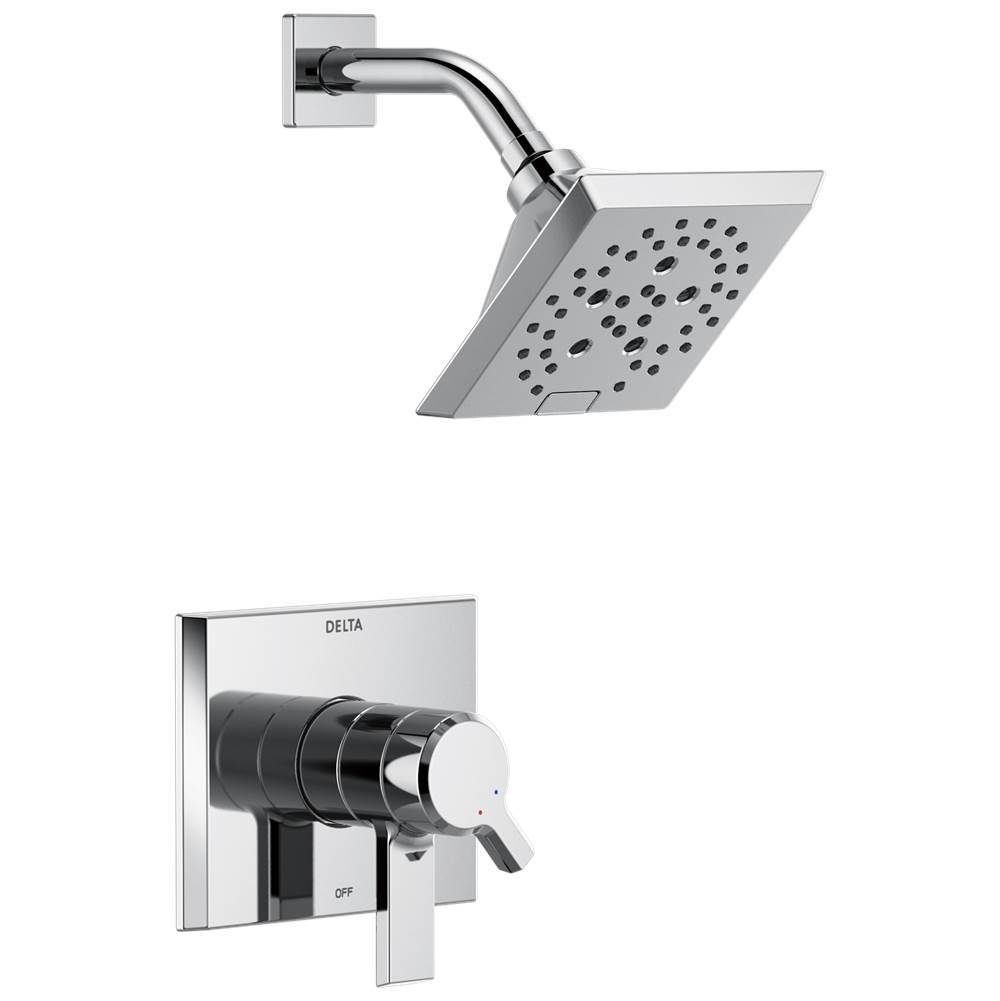 Delta Faucet Pivotal: Monitor® 17 Series H2Okinetic® Shower Trim