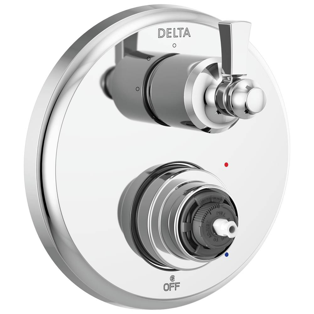 Delta Faucet Dorval: Traditional 2-Handle Monitor 14 Series Valve Trim with 3 Setting Diverter