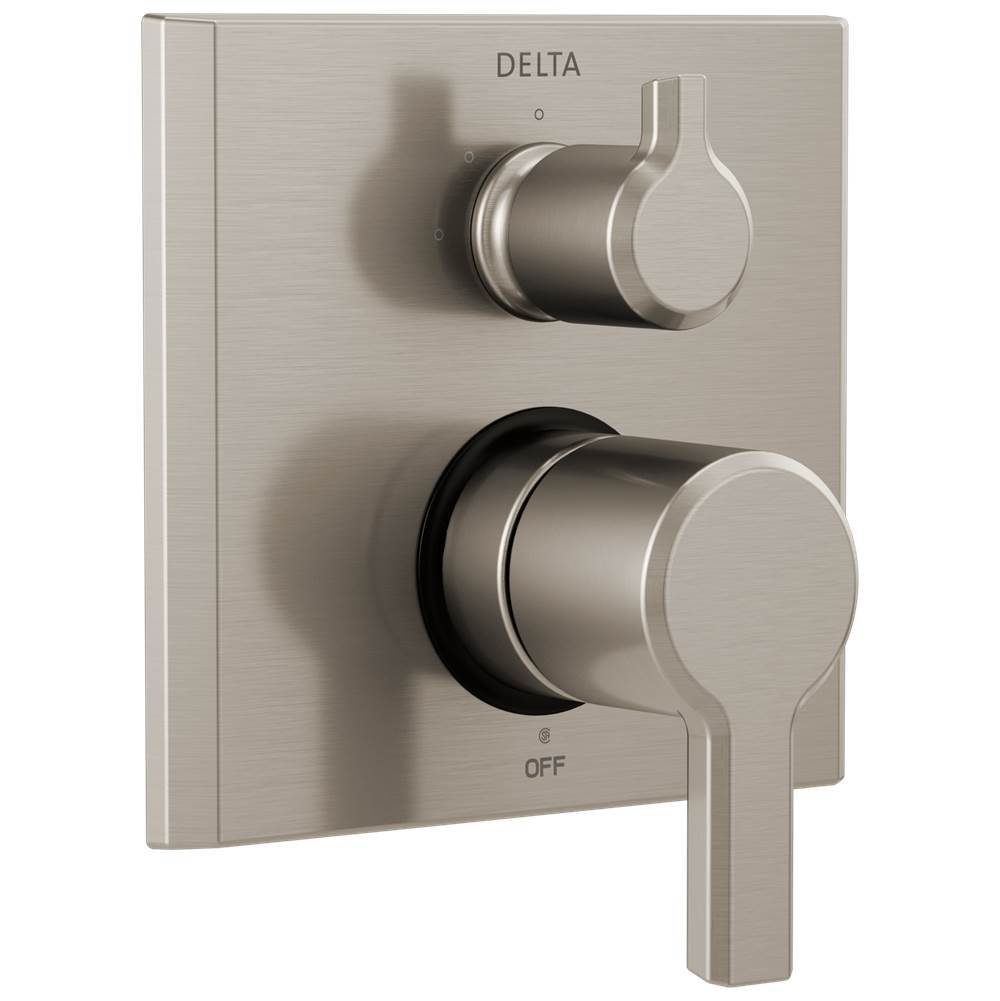 Delta Faucet Pivotal: 2-Handle Monitor® 14 Series Valve Trim with 3-Setting Diverter