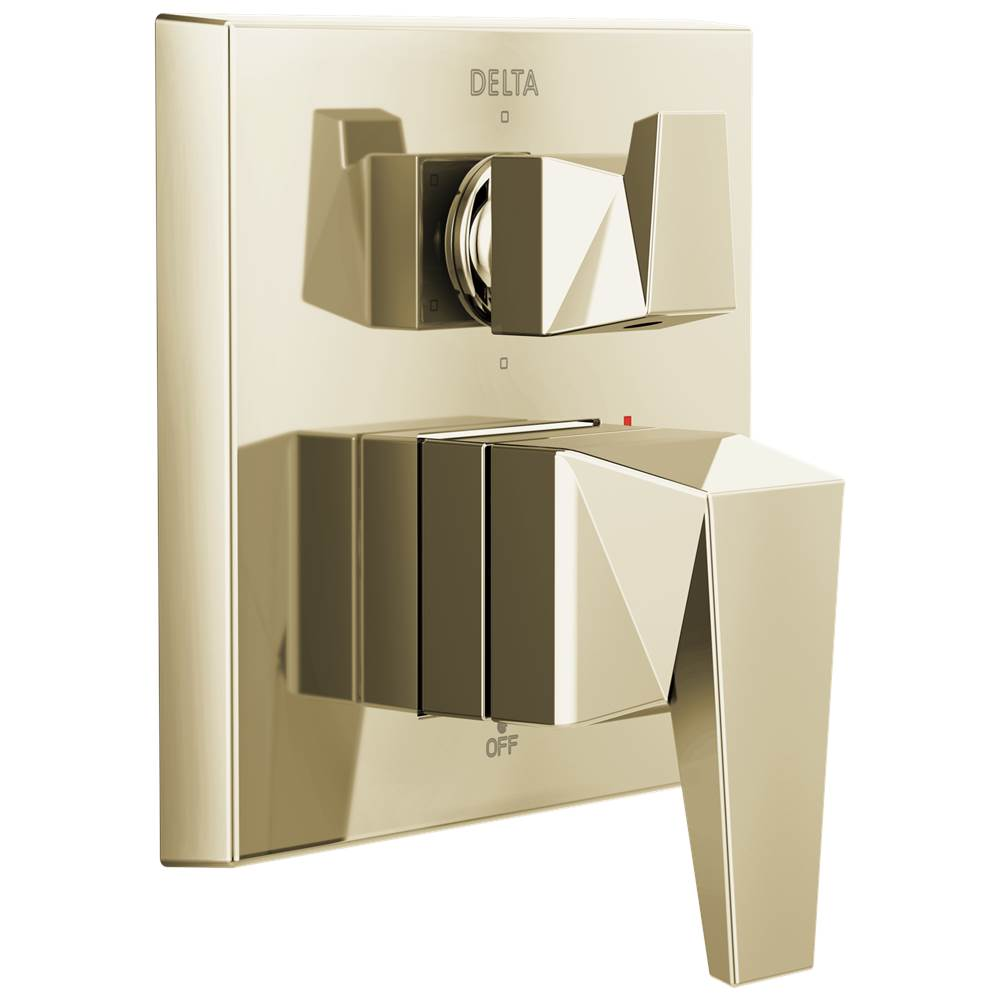 Delta Faucet Delta Trillian: Two-Handle Monitor 14 Series Valve Trim with 6-Setting Diverter