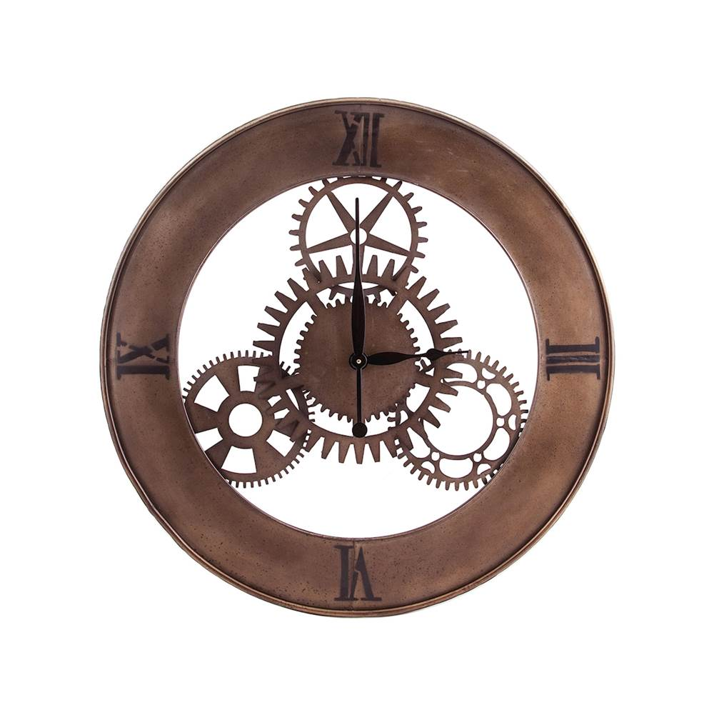 Elk Home Industrial Cog Wall Clock