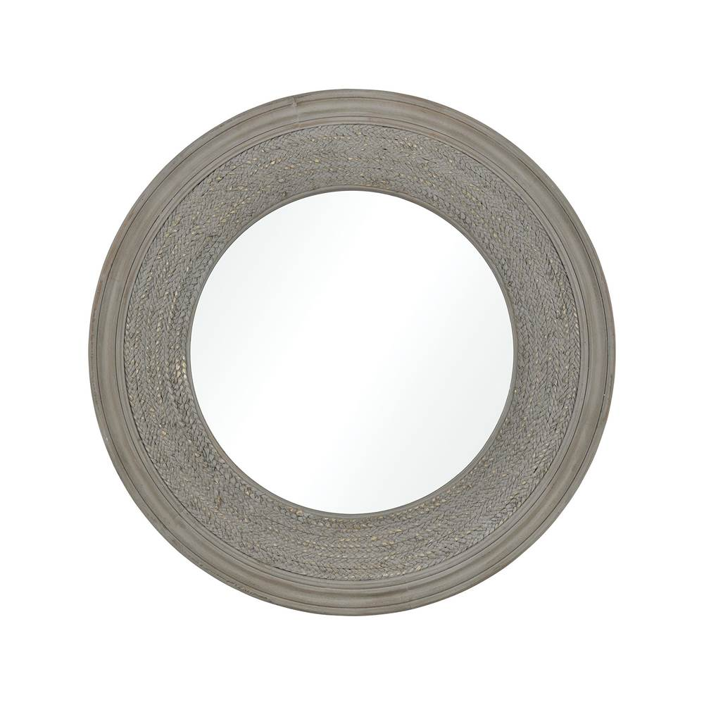 Elk Home Carrik-a-Rede Mirror in Washed Grey
