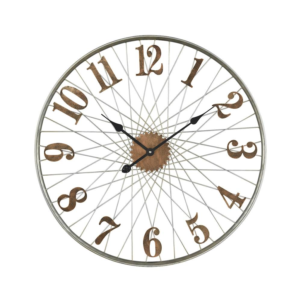Elk Home Moriarty Wall Clock