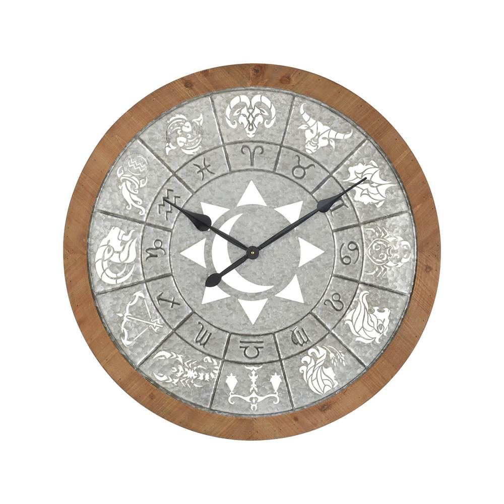 Elk Home Astronomicon Wall Clock