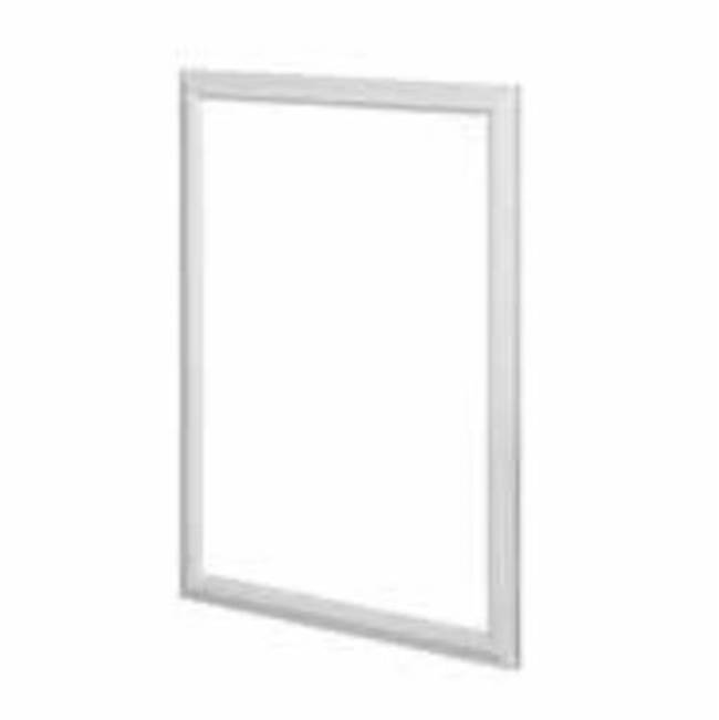 Fairmont Designs Revival 24'' Mirror In Glossy Med Gray