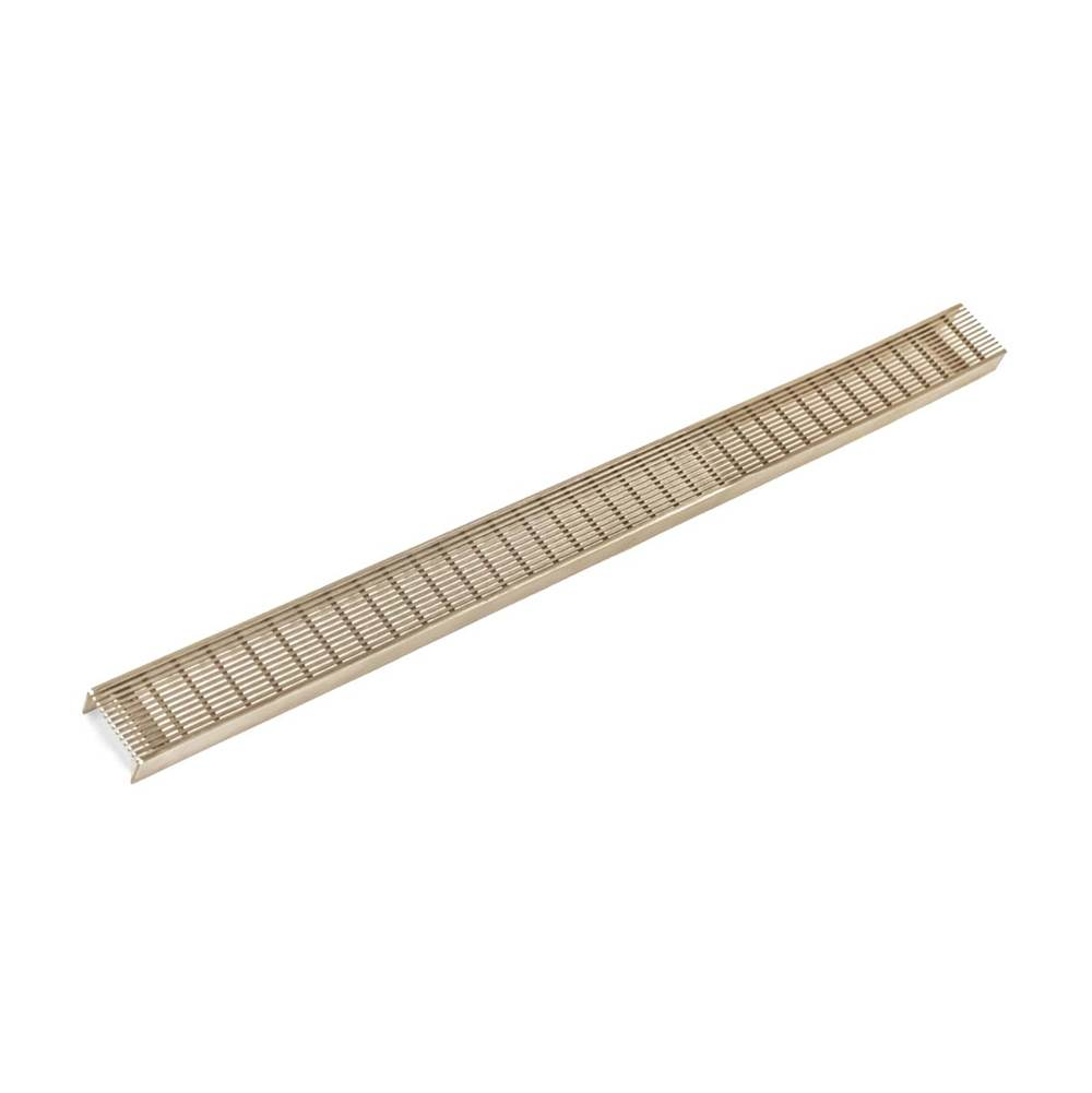Infinity Drain 72'' Wedge Wire Grate for S-AS 65 in Satin Bronze