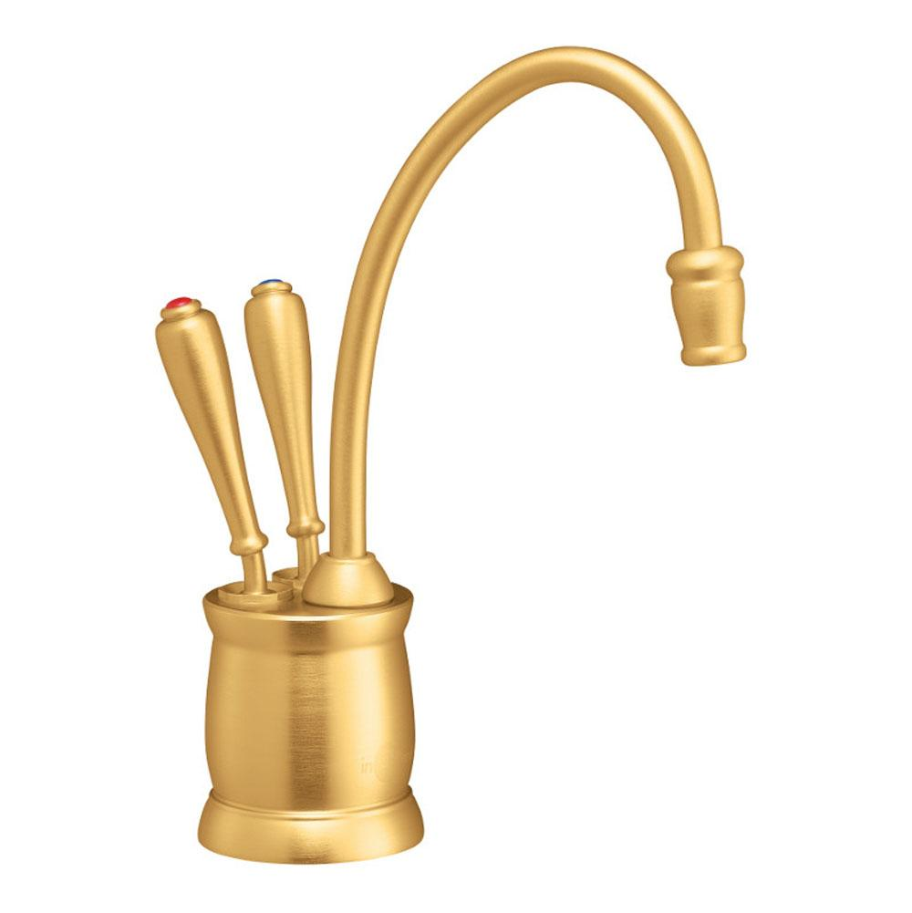 Insinkerator Indulge Tuscan F-HC2215 Instant Hot/Cool Water Dispenser Faucet in Brushed Bronze