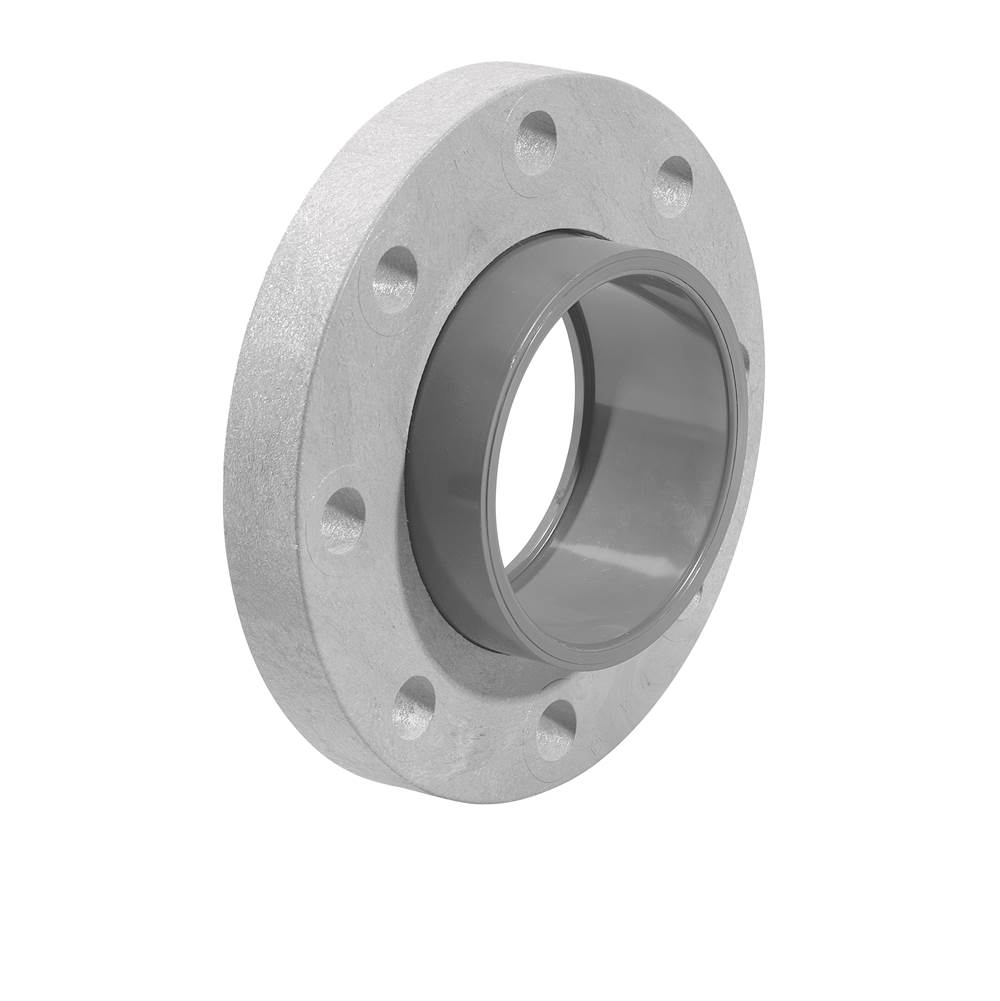 LASCO Fittings Sch80 Flange (Loose Ring), Slip, 1 1/4