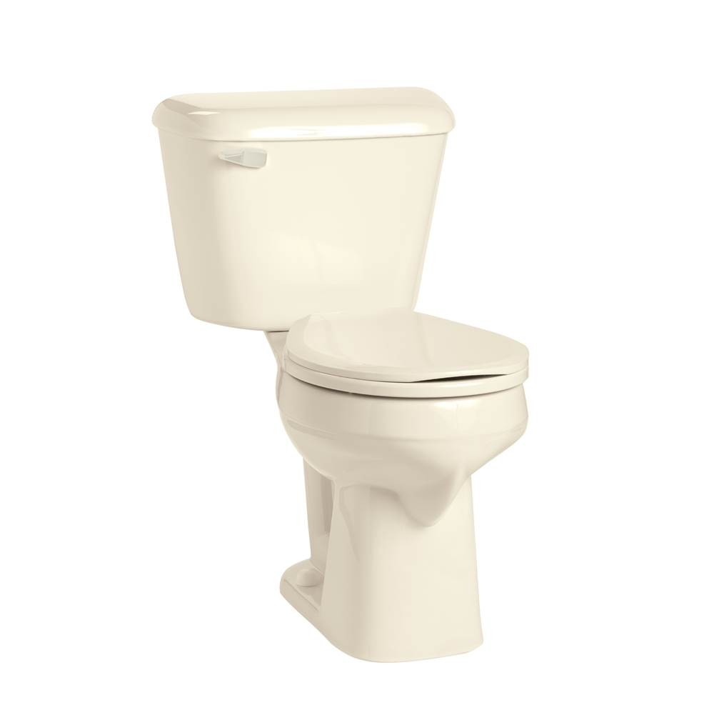 Mansfield Plumbing Alto 1.6 Round SmartHeight Toilet Combination