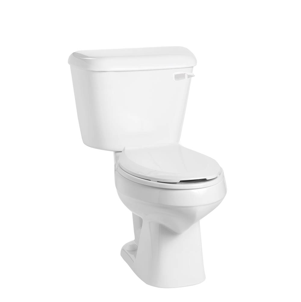 Mansfield Plumbing Alto 1.6 Elongated 10'' Rough-In Toilet Combination