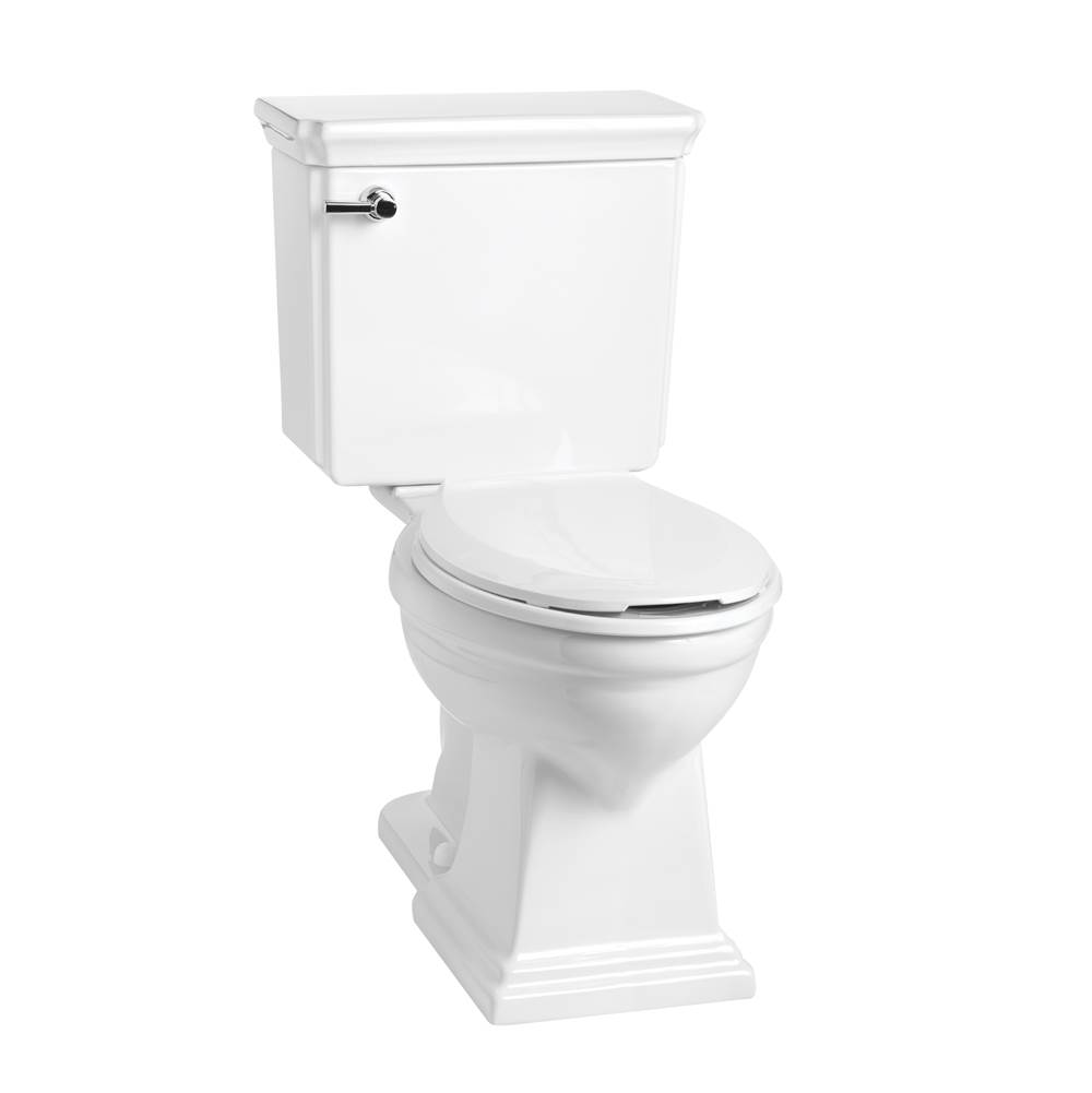 Mansfield Plumbing Brentwood 1.28 Elongated SmartHeight Toilet Combination