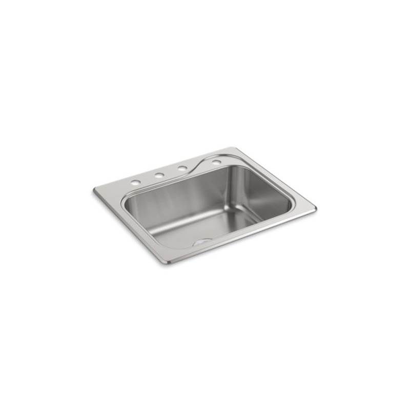 Sterling Plumbing Southhaven 25X22X8 Sgl Basin Sink