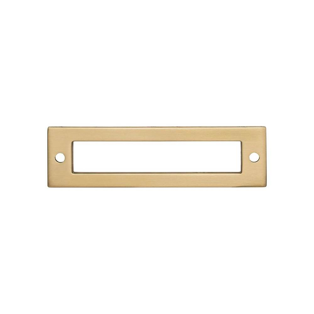 Top Knobs Hollin Backplate 3 3/4 Inch Honey Bronze