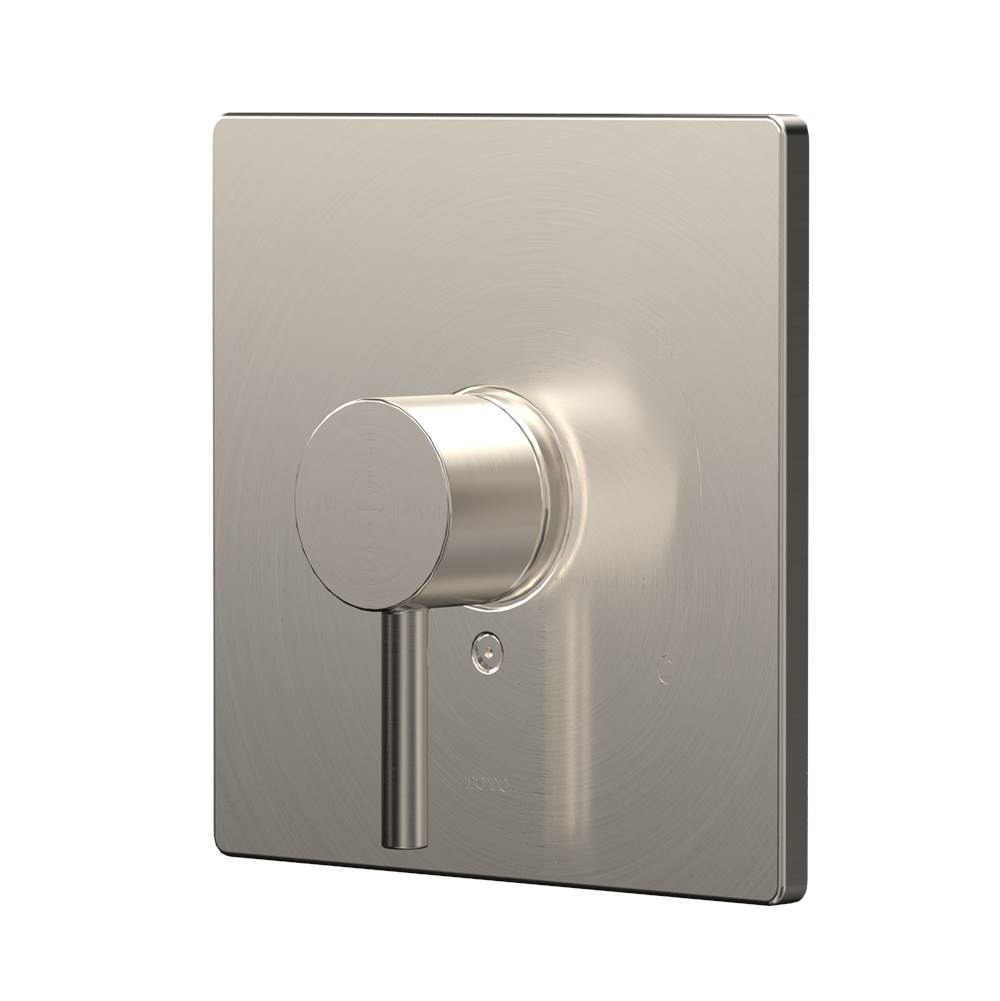 Toto Square Pressure Balance Valve Shower Trim, Brushed Nickel