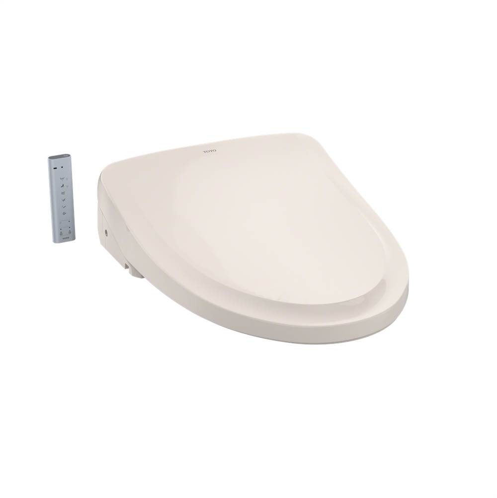 Toto WASHLET® S550e Electronic Bidet Toilet Seat with EWATER++® and Auto Open and Close Classic Lid, Elongated, Sedona Beige
