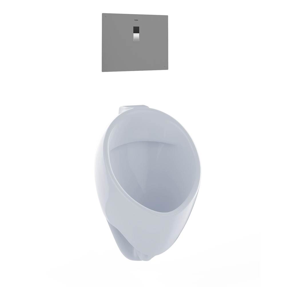 Toto Commercial Washout Urinal W/ Cefiontec Back Spud--Cotton