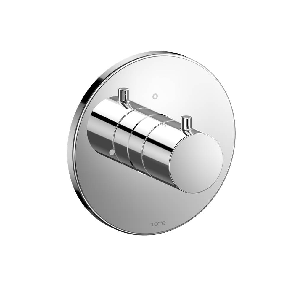 Toto Round Volume Control Valve Shower Trim, Polished Chrome